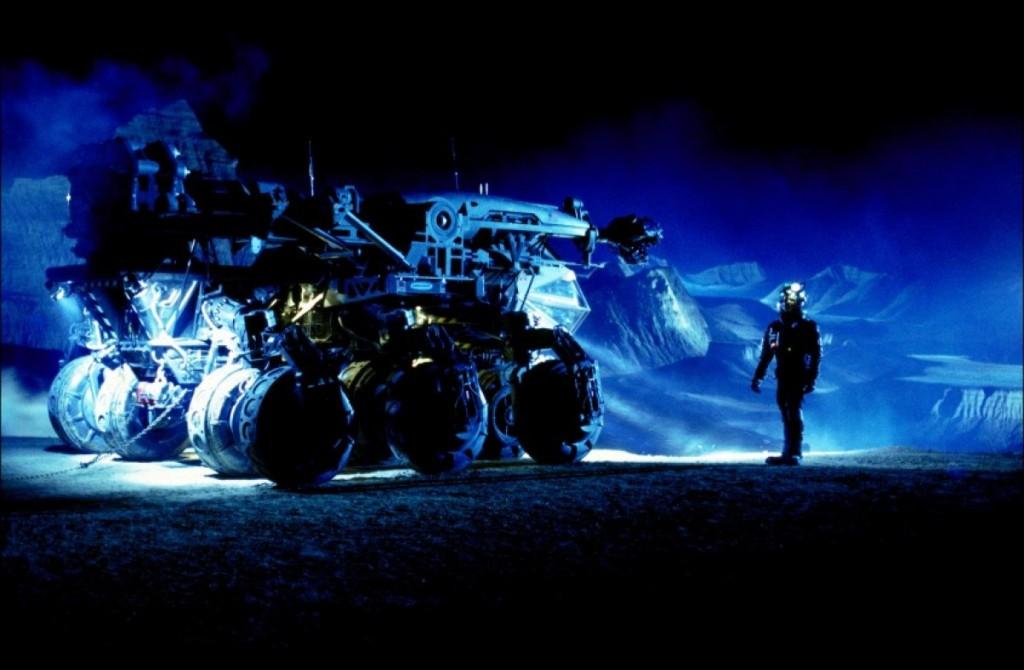 "Szene aus dem Film ""Armageddon"""